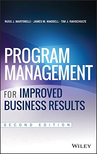 9781118627921: Program Management for Improved Business Results