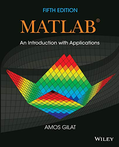 9781118629864: Matlab: An Introduction with Applications