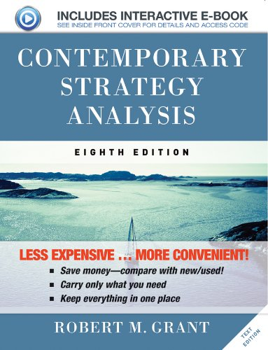 9781118634851: Contemporary Strategy Analysis 8e Text Only