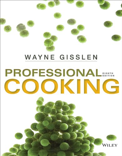 9781118636725: Professional Cooking