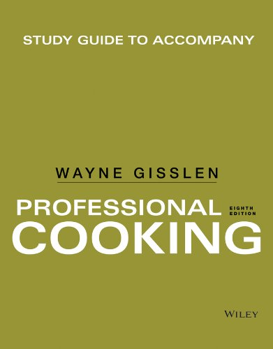 9781118636756: Study Guide to accompany Professional Cooking