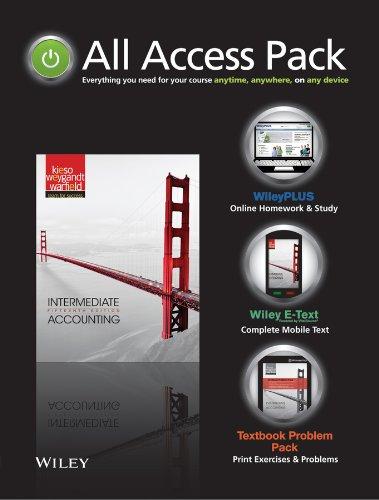 All-Access Pack - Intermediate Accounting 15e - Set: Kieso; Weygandt; Warfield