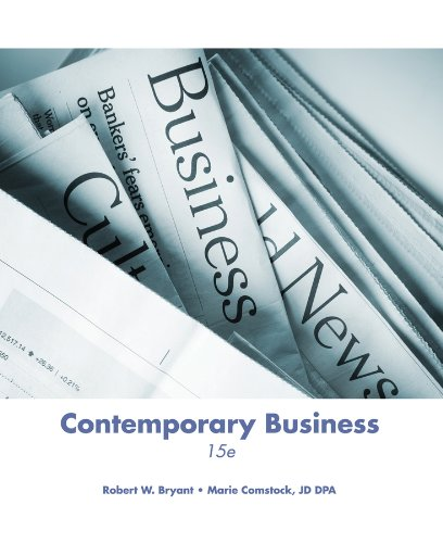 9781118643877: Contemporary Business, 15th Edition
