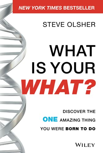 9781118644041: What Is Your WHAT?: Discover The One Amazing Thing You Were Born To Do