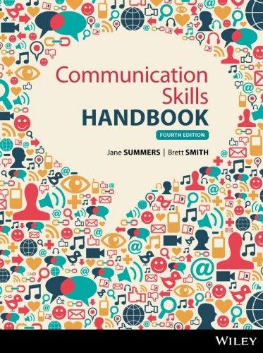 Communications Skills Handbook (Paperback): Jane Summers