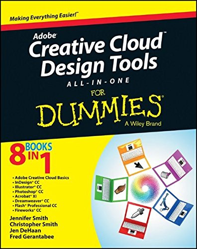 9781118646113: Adobe Creative Cloud Design Tools All-in-One For Dummies