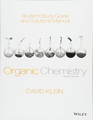 9781118647950: Student Study Guide and Solutions Manual to Accompany Organic Chemistry
