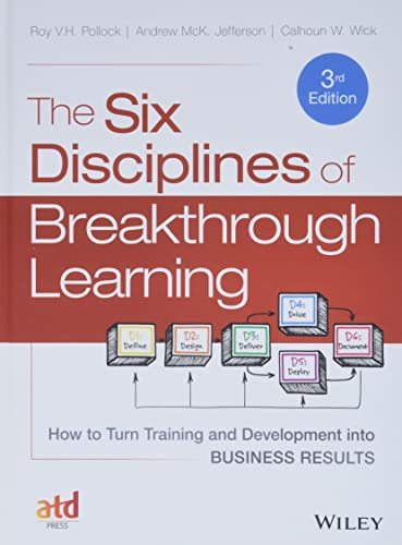 9781118647998: The Six Disciplines of Breakthrough Learning: How to Turn Training and Development into Business Results