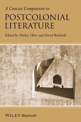 9781118652350: A Concise Companion to Postcolonial Literature