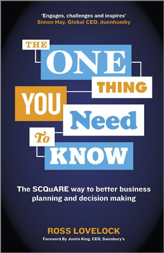 9781118653166: The One Thing You Need to Know: The SCQuARE way to better business planning and decision making