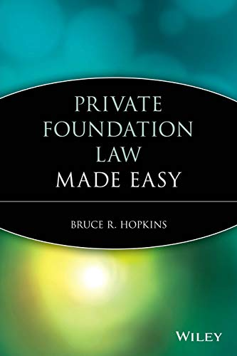 9781118653371: Private Foundation Law Made Easy