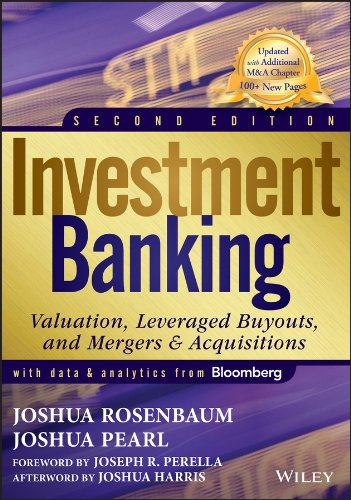 9781118656211: Investment Banking: Valuation, Leveraged Buyouts, and Mergers and Acquisitions