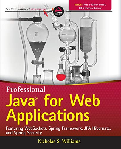 9781118656464: Professional Java for Web Applications: Featuring Websockets, Spring Framework, JPA Hibernate, and Spring Security