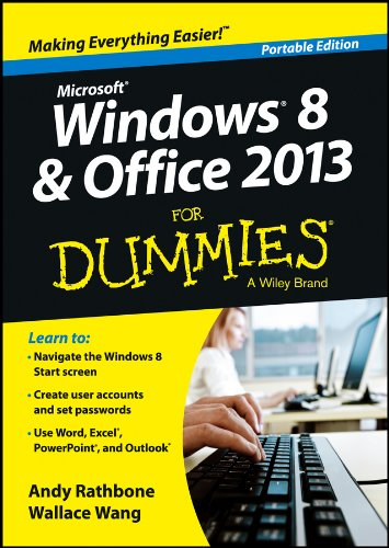 9781118669532: Windows 8 & Office 2013 for Dummies: Portable Edition