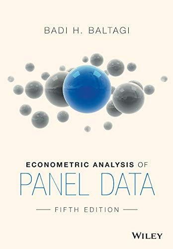 9781118672327: Econometric Analysis of Panel Data