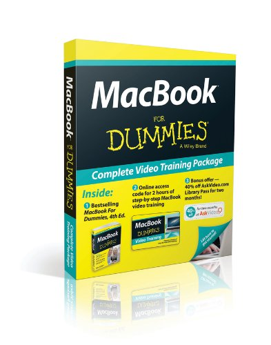 9781118673683: MacBook For Dummies, 4th Edition, Book + Online Video Training Bundle