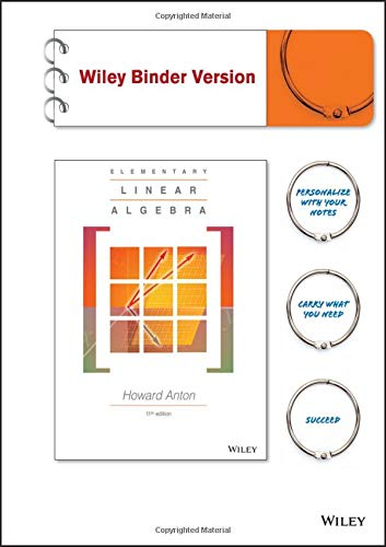 9781118677308: Elementary Linear Algebra, Binder Ready Version
