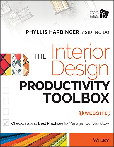 9781118680438: The Interior Design Productivity Toolbox: Checklists and Best Practices to Manage Your Workflow