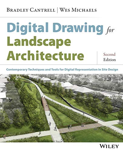 9781118693186: Digital Drawing for Landscape Architecture: Contemporary Techniques and Tools for Digital Representation in Site Design