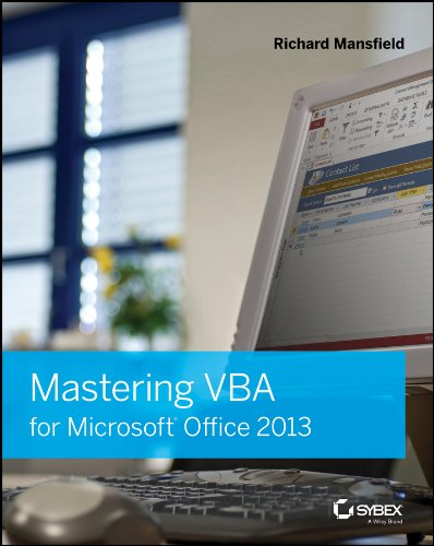 Mastering VBA for Microsoft Office 2013 (Paperback): Richard Mansfield