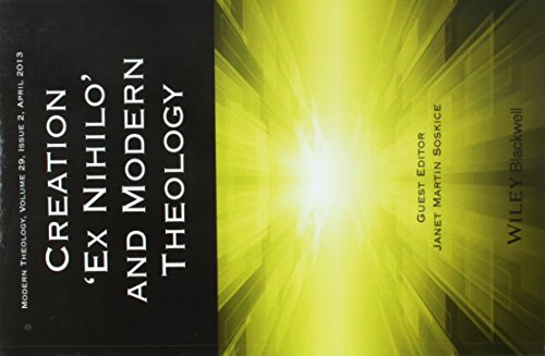 Creation andapos;Ex Nihiloandapos; and Modern Theology: Soskice, Janet
