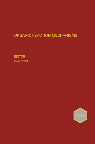 Organic Reaction Mechanisms 2013 (Hardback)