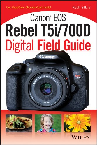 9781118711644: Canon Eos Rebel T5i/700D Digital Field Guide