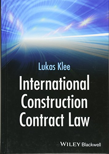 9781118717905: International Construction Contract Law