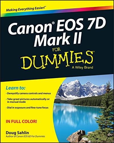 9781118722909: Canon Eos 7D Mark II for Dummies