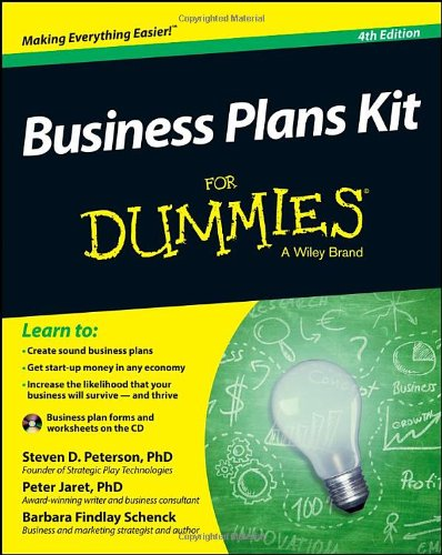 9781118725627: Business Plans Kit For Dummies