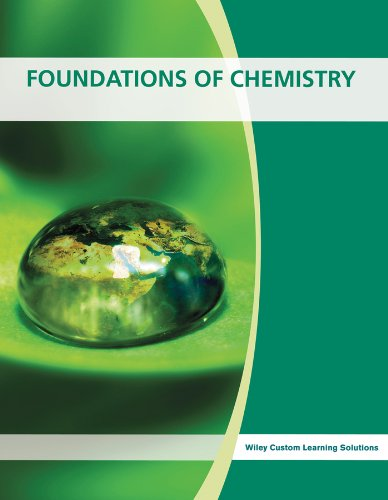 9781118727133: Foundations of Chemistry