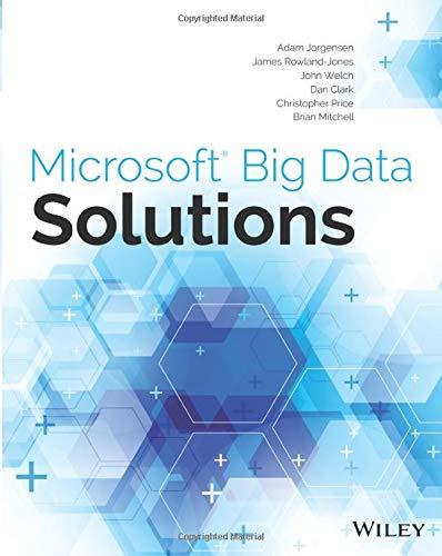 Microsoft Big Data Solutions: Jorgensen, Adam, Rowland-Jones,