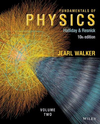 9781118731406: Fundamentals of Physics 10e, Volume 2 + WileyPLUS Registration Card