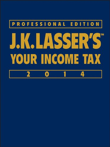 9781118734148: J.K. Lasser's Your Income Tax Professional Edition 2014
