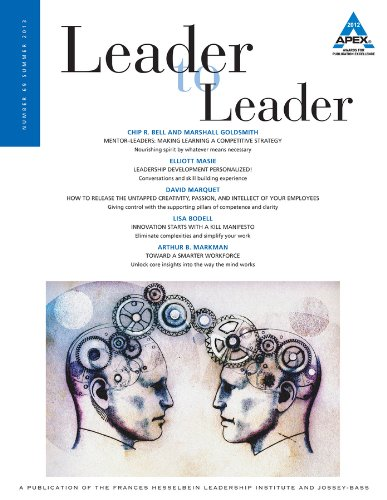 9781118737422: Leader to Leader (LTL), Volume 69, Summer 2013 (J-B Single Issue Leader to Leader)