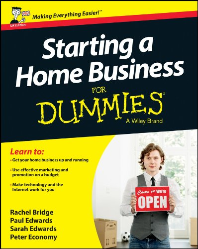 Starting a Home Business for Dummies (Paperback): Rachel Bridge