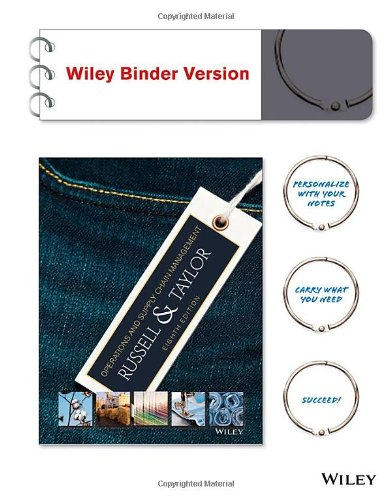 Operations and Supply Chain Management, Binder Ready: Roberta S. Russell,