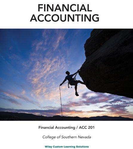9781118742969: FINANCIAL ACCOUNTING,V.1 >CUSTOM<