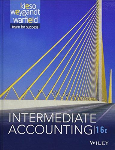 9781118743201: Intermediate Accounting - AbeBooks - Donald E Kieso