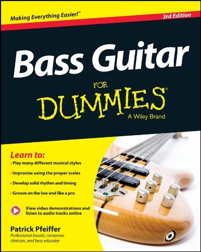9781118748800: Bass Guitar For Dummies: Book + Online Video & Audio Instruction