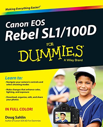 9781118753675: Canon EOS Rebel SL1/100D For Dummies