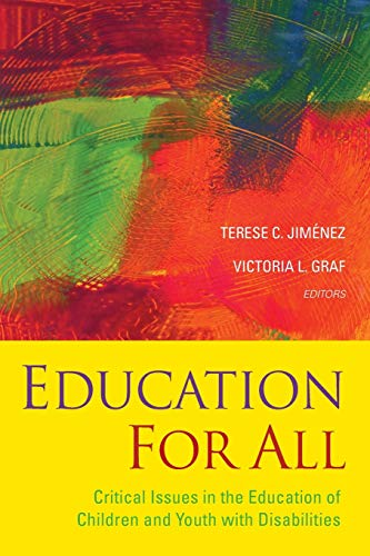 9781118754818: Education For All: Critical Issues in the Education of Children and Youth with Disabilities