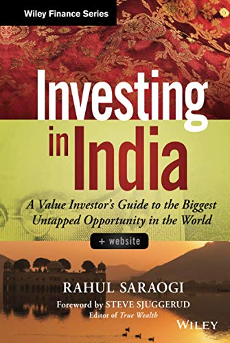 9781118756096: Investing in India, + Website: A Value Investor's Guide to the Biggest Untapped Opportunity in the World (Wiley Finance)