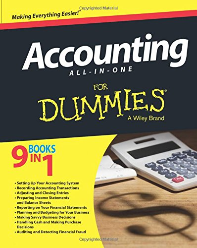 Accounting All-in-One For Dummies: Tracy, John A.,