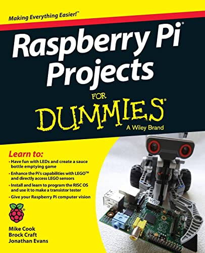 9781118766699: Raspberry Pi Projects For Dummies