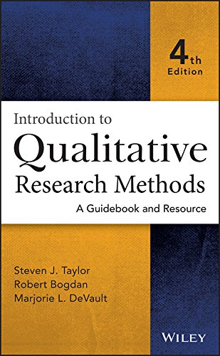 Introduction to Qualitative Research Methods: A Guidebook: Taylor, Steven J./