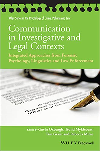 Communication in Investigative and Legal Contexts: Integrated