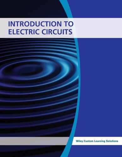 Introduction to Electric Circuits: John Wiley &