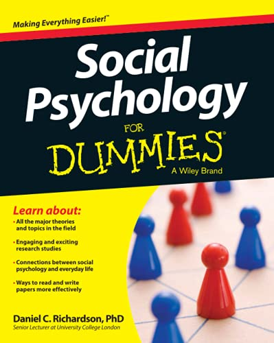 9781118770542: Social Psychology For Dummies