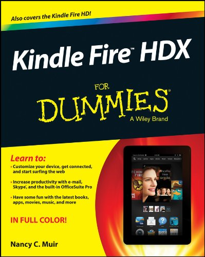 9781118772652: Kindle Fire HDX For Dummies